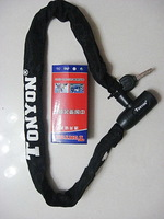 General tonyon bicycle motorcycle anti-theft lock chain ty721 d lock cylinder 10 900mm