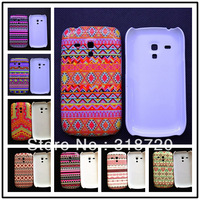 NEW Flag cartoon  hard  Cover case skin house for Samsung Galaxy S3 Mini i8190 Free Shipping! BH0128