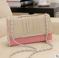 2013 women's handbag autumn lace small bag candy small fresh bag one shoulder cross-body handbag chain bag