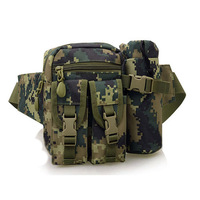 multi functional swat sport tactical bag pouch, military equipment army canvas waist bag, outdoor camping hiking pack
