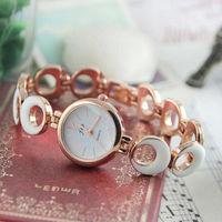 2014 New 3 Color Ladies Watch Brand Fashion Stainless Steel Women's Bracelet Wristwatches Quartz Women Dress Watches