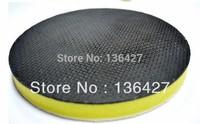 Advaned material 6 Inch Diameter Car Wash Polishing Magic Clay Pad Yellow