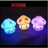 Children Flash The mushroom little lamp Toys Light Music UFO New Strange With Battery 240pcs Free Ship EMS Shiny Color