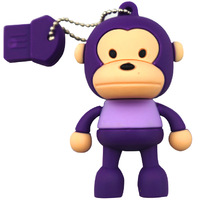 New Cartoon Characters Monkey/purple USB 2.0 Flash Drive 2G 4G 8G 16G 32G