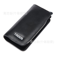 Tang Ming Shi genuine imported cow leather spike Wallets Men pickup bit key bag