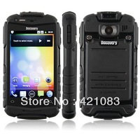 3.5 inch cheap Android smart phone shockproof discovery V5 daul sim card wifi bluetooth support multi languages!