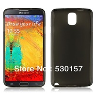 High Quality Soft TPU Matte Pudding Gel Back Case For Samsung Galaxy Note 3 Note3 iii, 100pcs via DHL Freeshipping!