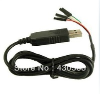 Free shipping USB To RS232 TTL UART PL2303HX Auto Converter USB to COM Cable Adapter Module Drop Shipping
