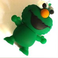 HOT cartoon Monsters Green monster USB 2.0 Memory Stick Flash Drive Pen 2G 4G 8G 16G 32G