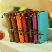 A6 iopened tsmip travel vintage fashion diary pendant notebook pants