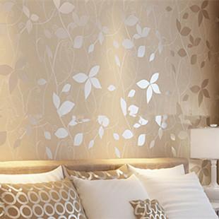 Compra dormitorio moderno papel pintado online al por - Papel pared barato ...
