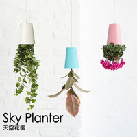 Sky Planter Upside-Down Plant Pot Novelty Gift