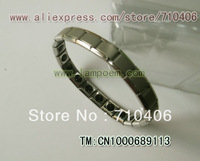 MOQ 1pcs/lot f  germanium   stainless steel bracelets   Power Bracelet Balance