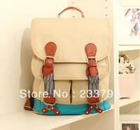 Korean bag backpack fashion preppy style school bag vintage backpack women's handbag