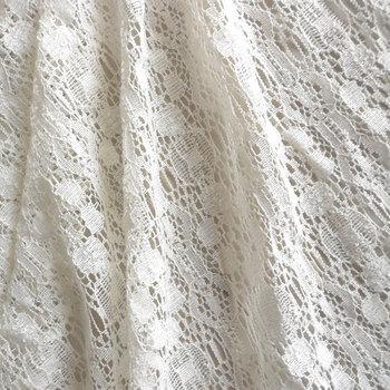 Curtain fabric cotton cloth fashion table cloth clothes fabric lace decoration gauze quality jacquard cloth