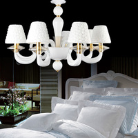 Wow bedroom pendant light luxury high quality crystal lamp royal lighting fashion brief lamps