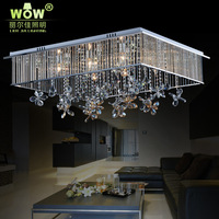 Wow led square ceiling light crystal lamp bedroom lamp ceiling light personalized quality lamps