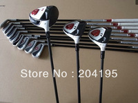 TM Golf Complete Set Driver 9 or 10.5loft Fairway Woods #3#5 Irons #456789PAS Stiff/Regular Shaft Full Golf Clubs