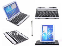 Aluminum Wireless Bluetooth Keyboard Case for Tab 3 10.1 P5200