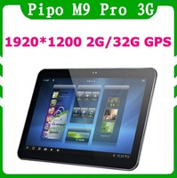 Pipo M9 PRO 3G / M9 3G Quad Core Tablet PC 10.1 inch RK3188 1.6GHz 2GB 32GB IPS HD Screen HDMI Wifi Bluetooth gps Android 4.1