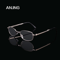 Quality alloy ultra-light folding reading glasses high precision membrane resin lenses old mirrors