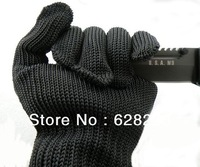 20pcs Solid Safety Protective welding Glove Military Cut Resistance Knitted Glove steel wire 2pcs=1pair