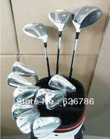 Golf Complete Set Driver 9.5 or 10.5 loft Fairway Woods #3#5 Irons #456789PAS Graphite or Steel Regular Shaft Full Golf Clubs