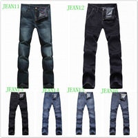 high quality brand 100% cotton regular jeans men winter big size 40 42 44 46 xxxxxl size plus branded items mens fashion pants