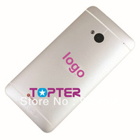 original 100% new white color  phone batter replacement part  for HTC One M7 801e  housing spare parts with tool