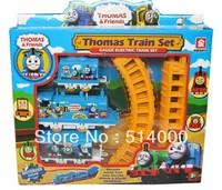 Thomas electric rail train Thomas electric train set track toy for Kids