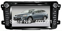 "Free shipping!! 7"" android4.0, 2 din 3G wifi Car DVD GPS special for MAZDA CX-9 2007-"