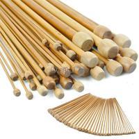 """new 2013 36 Needles 18 sizes 10"""" Single Point Bamboo Knitting Needles 18435"""