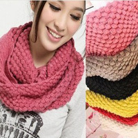 Hot sale Autumn winter Woolen scarf corn women winter knitting wool collar neck warmer woman scarves new arrival product 2013