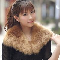 Imitation fur collar, fake fox fur collar,2013 popular collar, soft and comfortable. made in china.