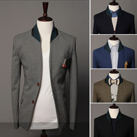 Free shipping Support 2013 fashion male casual blazers men suits fashion blazer , M-XXL,SU2049