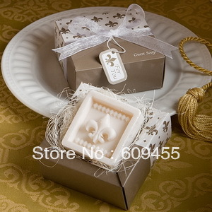 On Sales!!!!! FREE SHIPPING Stunning Cross Design Guest Soap Favors+100pcs/lot(RWF-0026P)(China (Mainland))