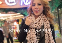 2013 NEW HOT Fashion trendy Cozy women ladies Noble women's scarf shawl neckerchief muffle designs Sexy  cat