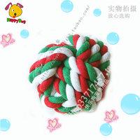 free shipping High quality carrick-bend ball pet toy ball dog toys dog teeth ball