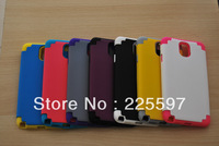 High Quality PC+Silicone new arrival case for Samsung Galaxy N9000 Note 3 Note III