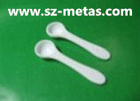 Wholesale FreeShipping-100pcs/lot-Bulkpack-1.00 gram flat HDPE plastic medical measuring powder spoon scoops