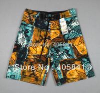 2013 NEW Men's Boys Surf Surfing Board Shorts Boardshorts scrawl Hawaii Beach Swim Swimming Pants Plaid Sports Men Mens  B815