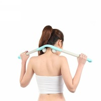 Multifunctional massage stick three stick massage stick beat stick neck fitness stick 12158
