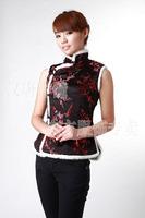 Winter han and tang suit vest fw020130-black vest cotton