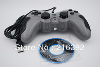 free shipping Curved small vibration computer usb wired game controller rocker