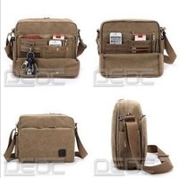 Women's Men's Multifunction Canvas Messenger Bag Shoulder Bag Storage Bag