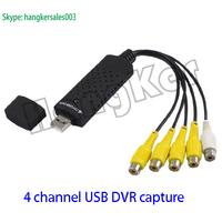 4 channel USB DVR capture (1 channel audio input)