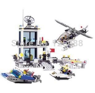 KAZI 6726 536pcs 3D Construction eductional Bricks Building