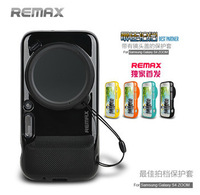 Orignal Remax Soft Silicon Cases Covers With Camera Protetion Cap For Samsung Galaxy S4 Zoom C101 with Package Freeshipping!
