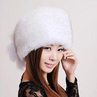 Fox fur hat fur hat Women marten cap winter princess hat lei feng cap