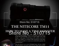 NITECORE TM11 Flashlight 2000 Lumens Free Shipping Tactical Hunting Shooting M5322